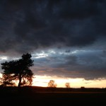 Der Himmel!!!! Die Abendstimmung und das Licht waren atemberaubend!