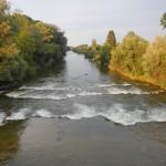 Ein natürlicher Flussverlauf sieht anders aus :-(